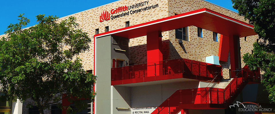 Griffith University in Brisbane, Australien